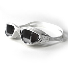 Zone3 Vapour Schwimmbrille Polarized polarized lens-white/silver